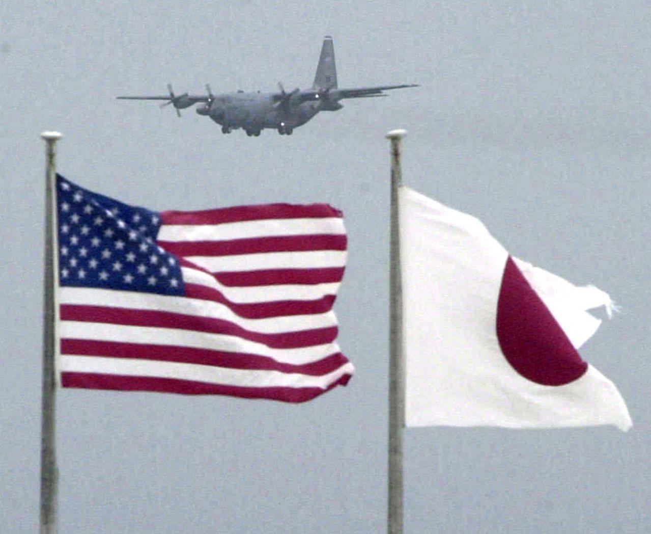 日本過去5年幫駐日美軍人員埋單近億元的賠償金。美聯社