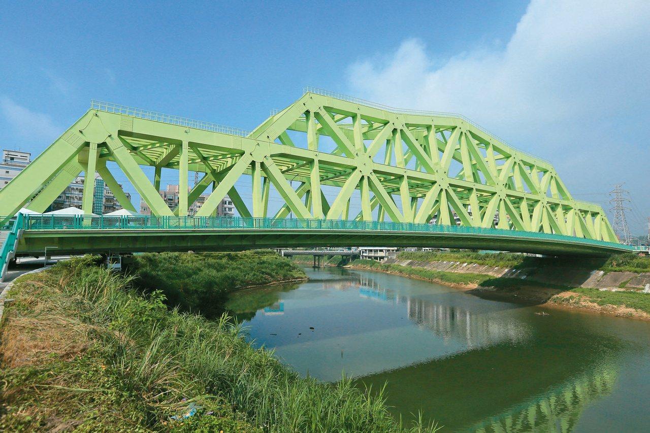 新北市汐止新社后橋第二層預留捷運民生汐止線的軌道空間。 圖/新北市捷運局提供
