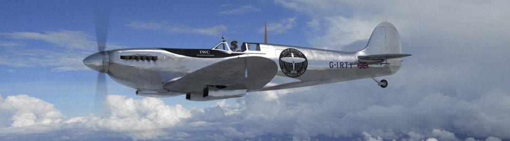 正在進行環球飛行的噴火式戰機。 圖/取自silverspitfire網站