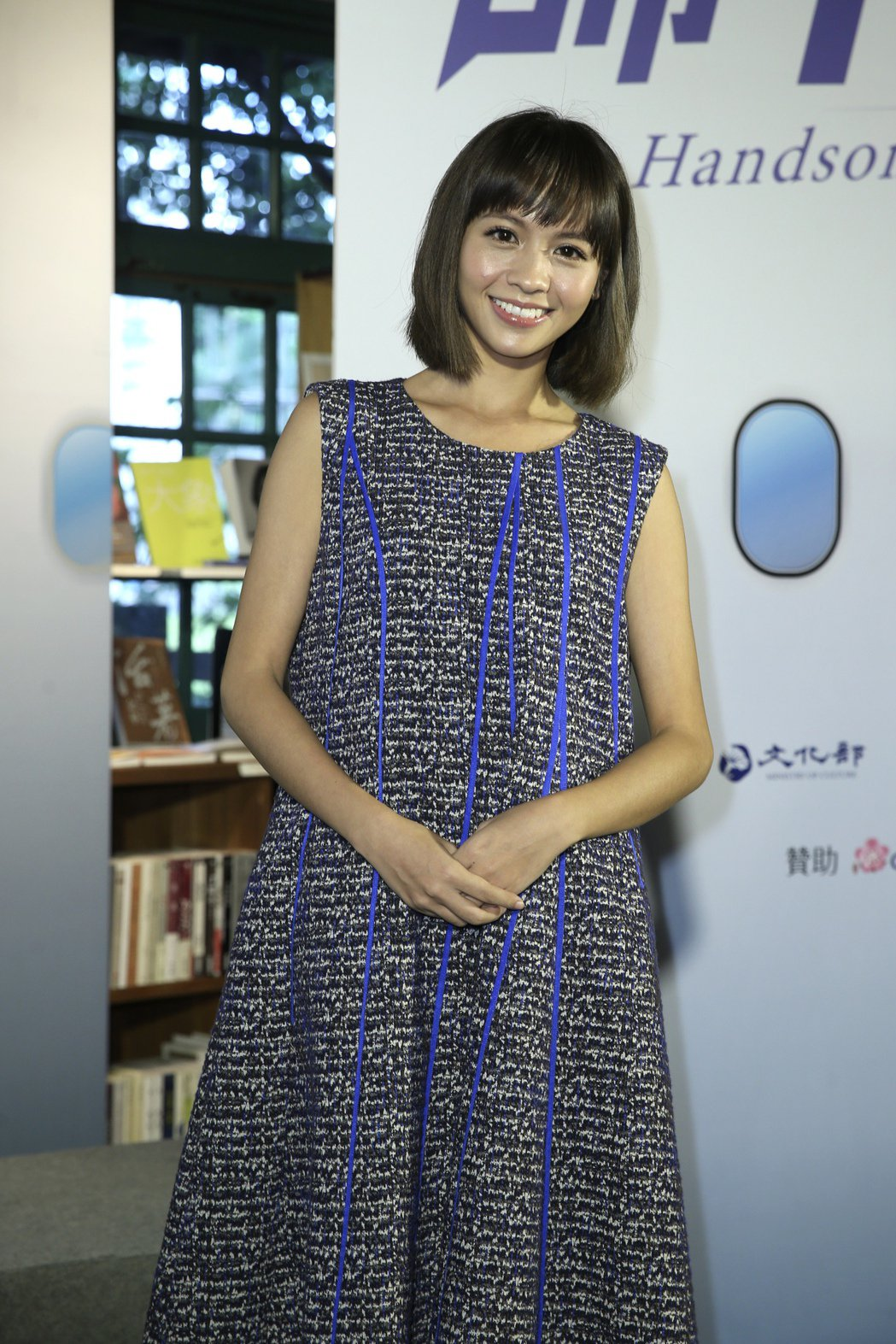 電視電影《帥T空姐》首映記者會,黃姵嘉出席。記者曾吉松/攝影
