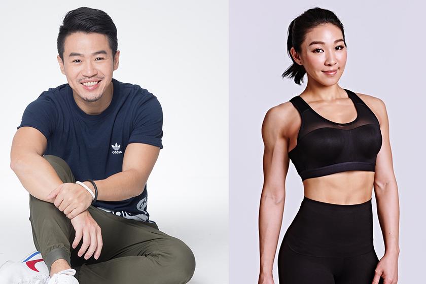 健身紅人「一休」、「筋肉媽」 圖/新光人壽慈善基金會提供