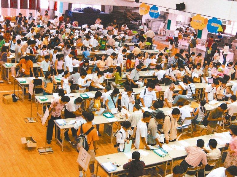 受少子化影響,國內公立教師開缺少,每年教師甄選擠破頭,師培公費生也因此水漲船高。本報資料照片