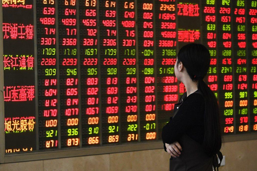 外資上周對亞股買多賣少,買超中國3.9億美元最多。 本報系資料庫