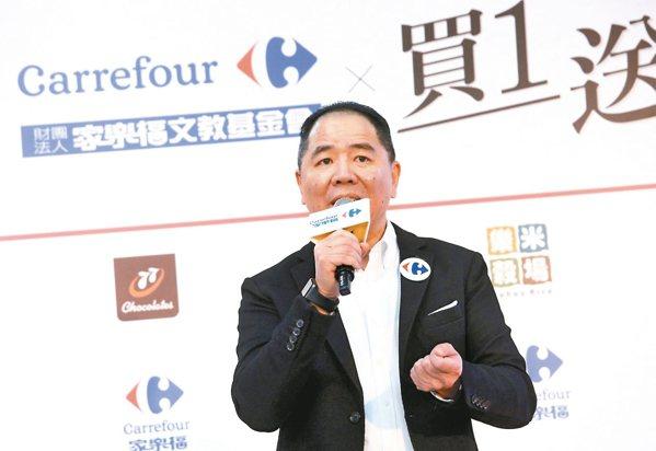 台灣家樂福總經理王俊超 家樂福/提供