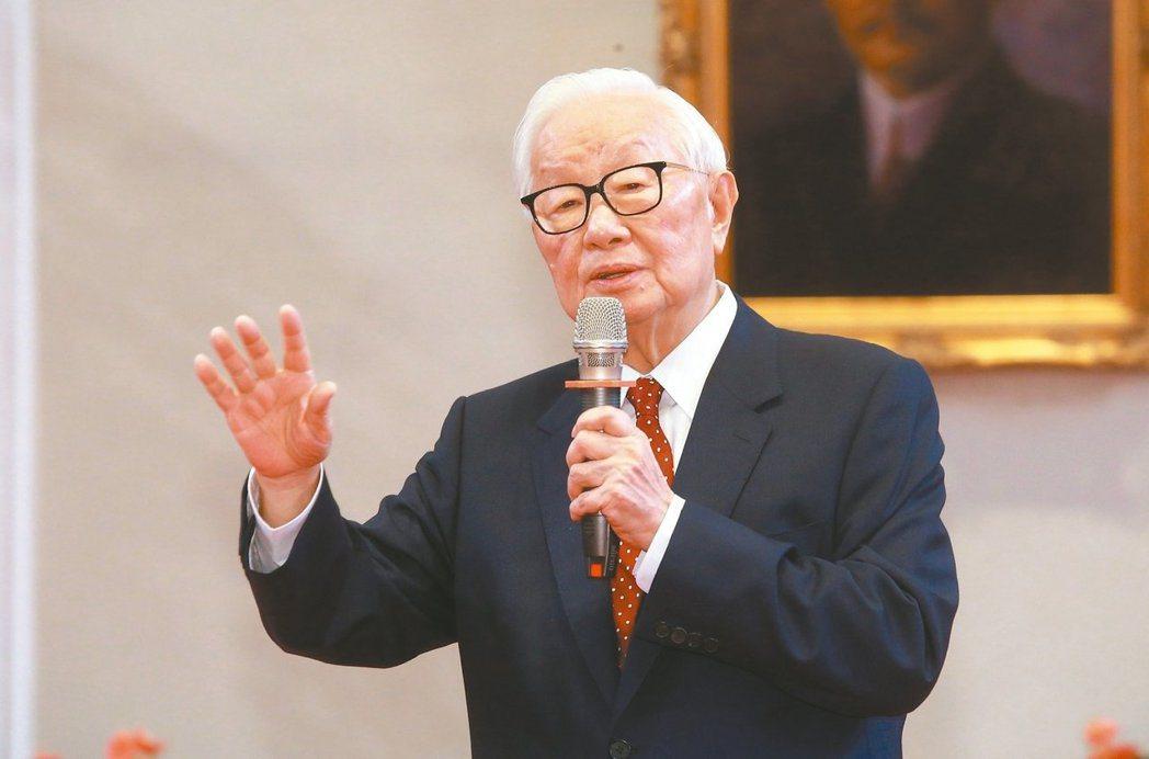 台積電創辦人張忠謀再次擔任APEC領袖代表。 記者黃義書/攝影