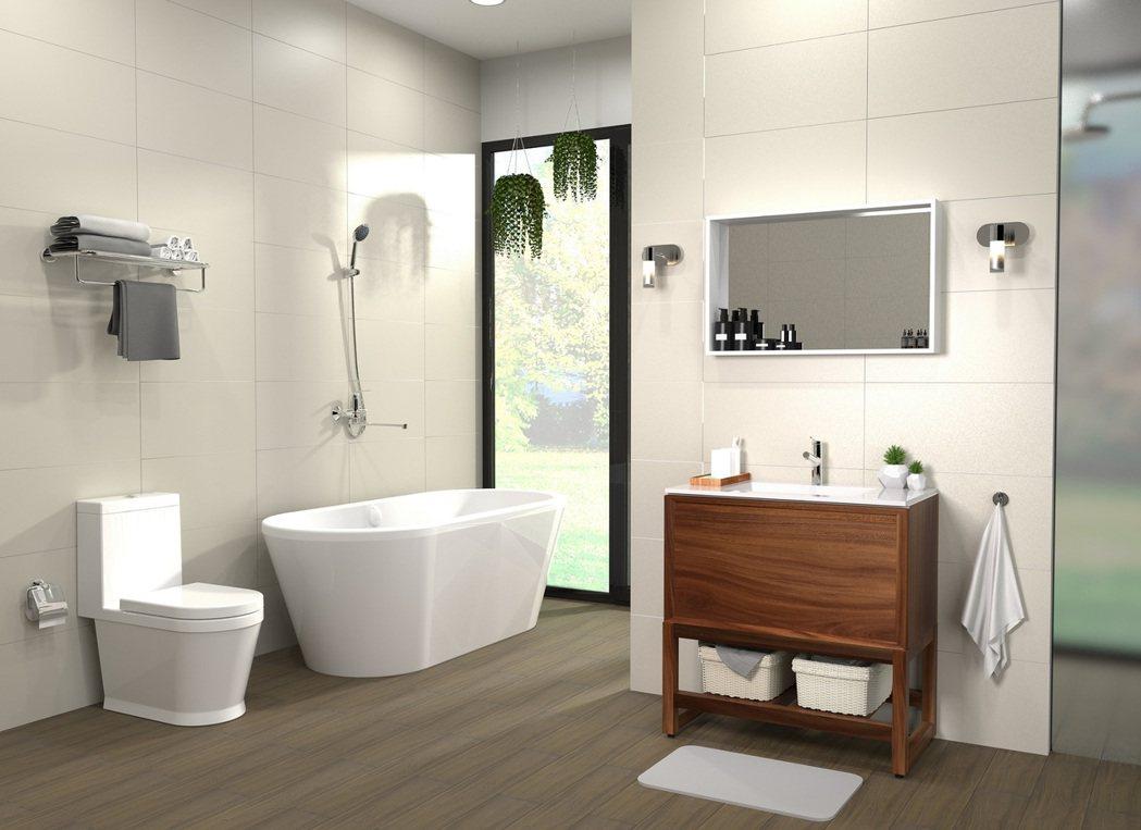 BRAVAT衛浴系列商品極具設計感的外型與通過國際級檢驗的品質,獲得極高的詢問度...