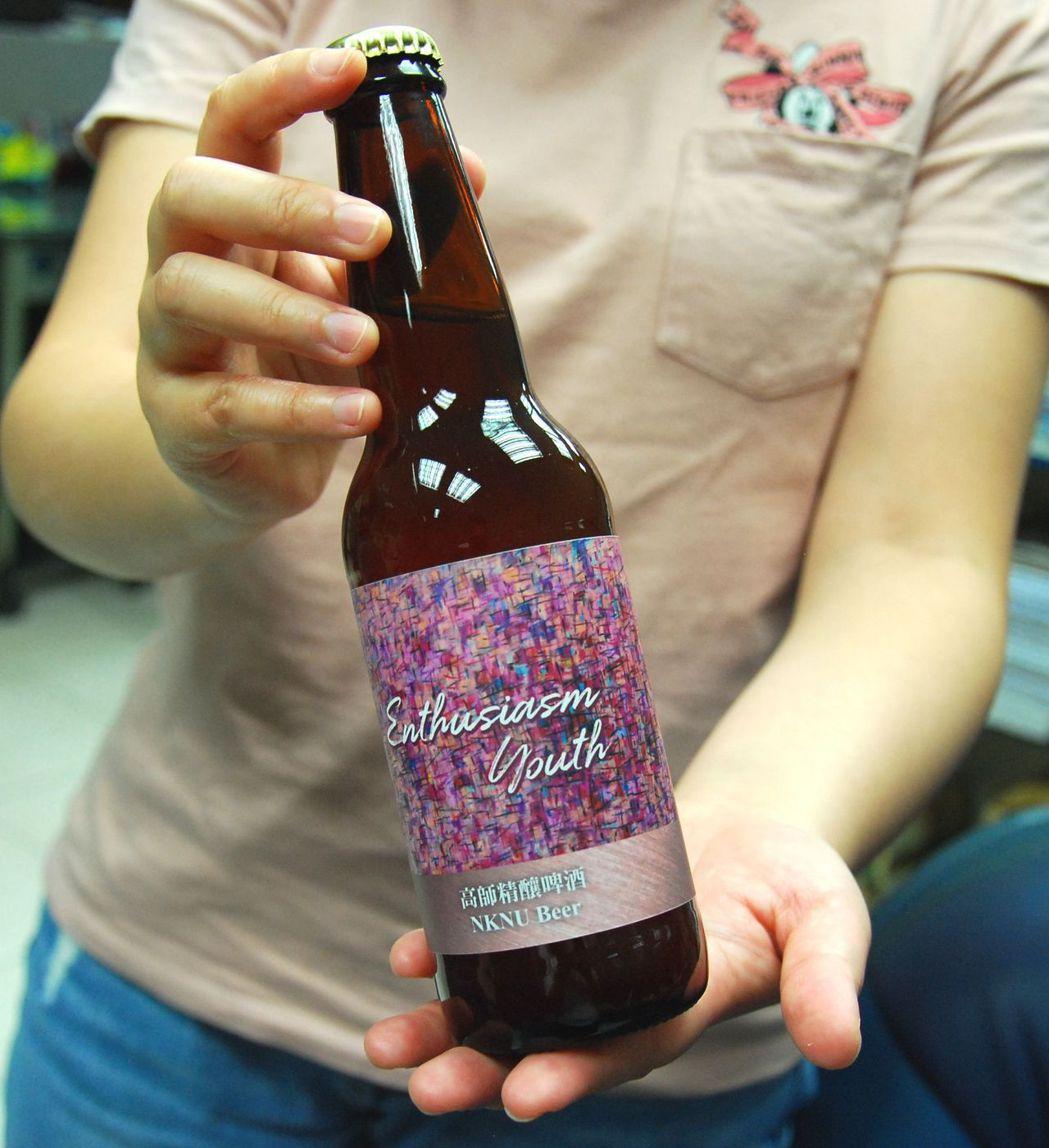高師精釀啤酒風味絕佳,口感相當滑順。 楊鎮州/攝影