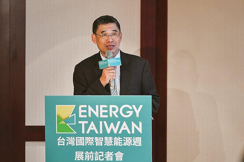 經濟部能源局副局長李君禮表示,能源局與Energy Taiwan合作,規劃「能源...
