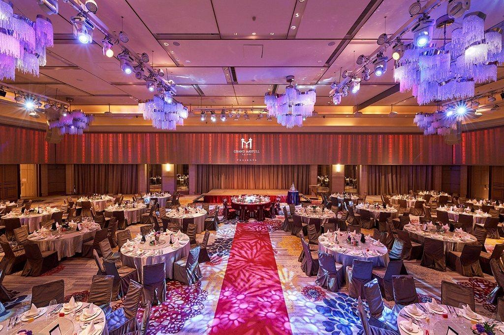 台北美福大飯店宴會廳。業者/提供