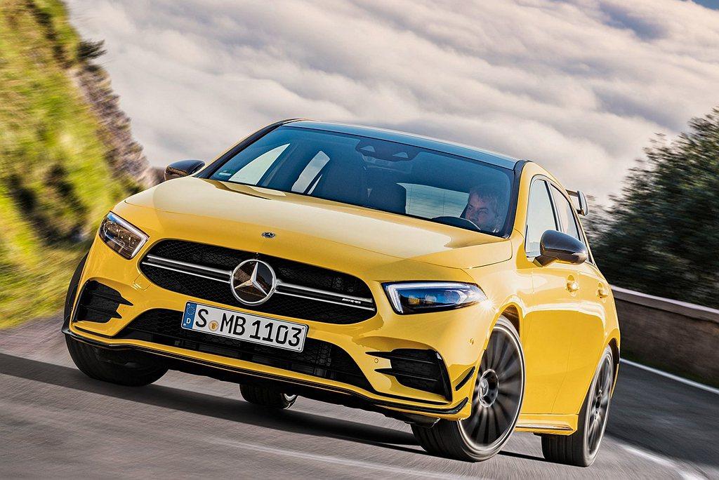 期待已久的Mercedes-AMG A35終於要來了!搭載新世代2.0L直列四缸...