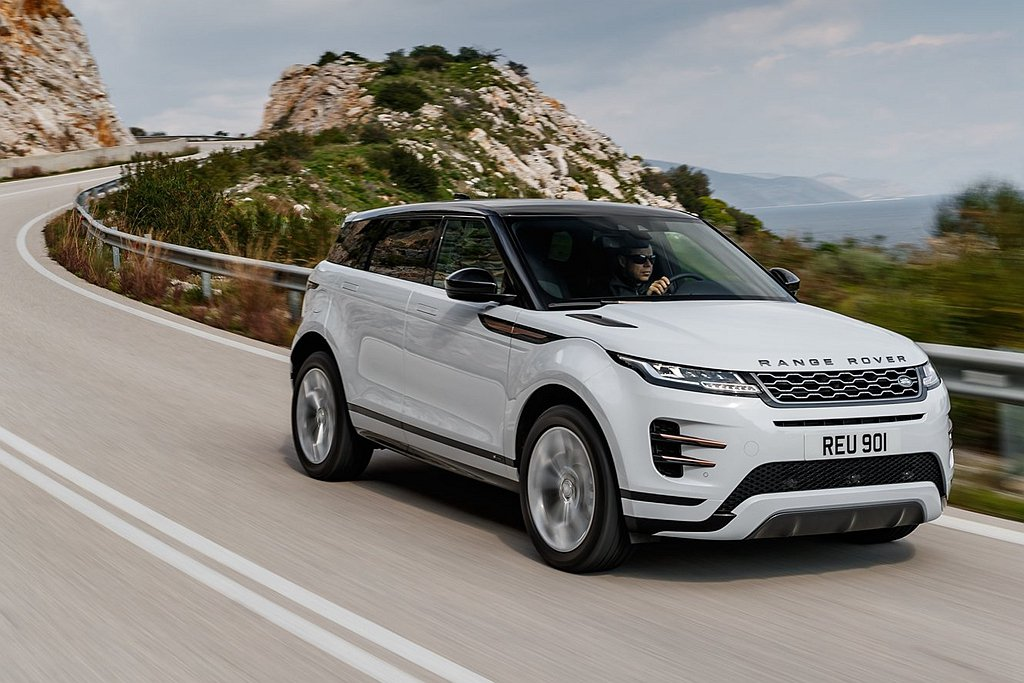 全新第二代Land Rover Range Rover Evoque終於有譜,依...