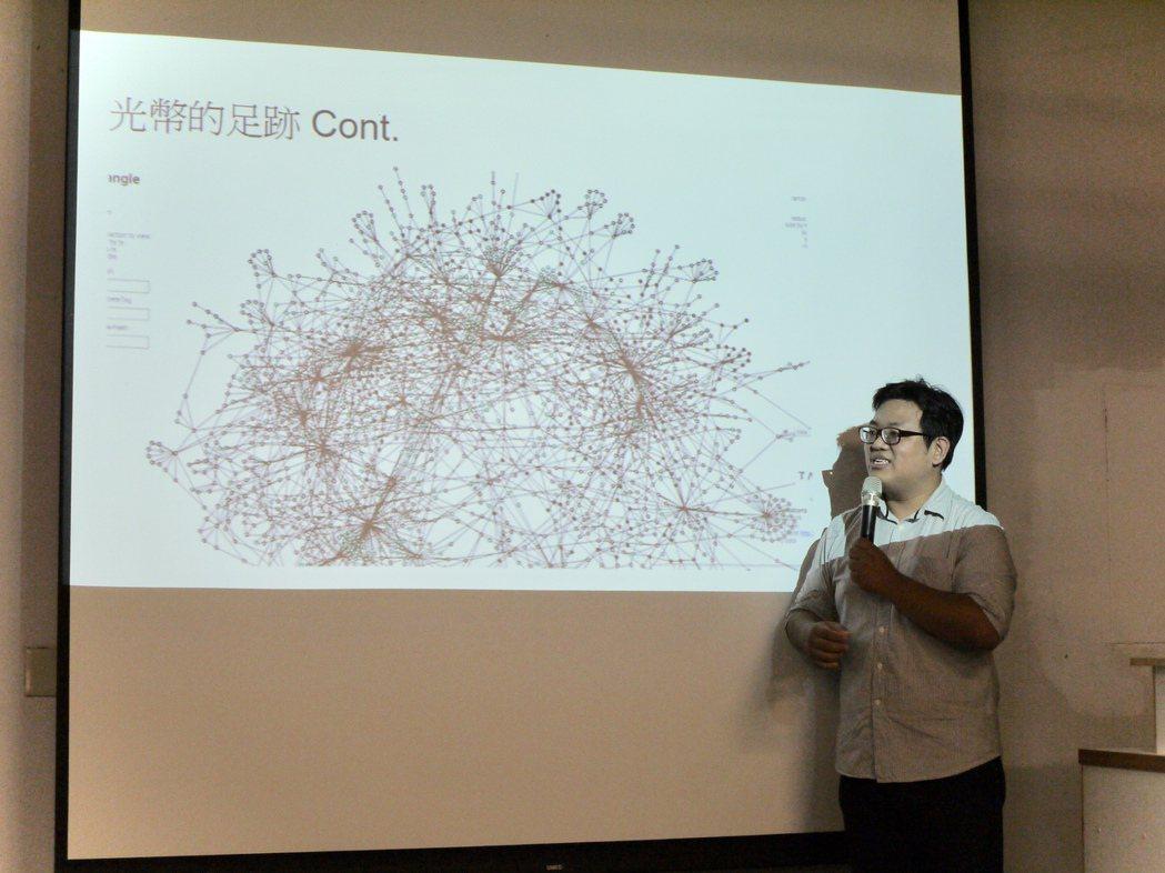 小鎮智能透過光幣消費的數據足跡,能夠為在地產業對症下藥。 圖/劉嫈楓攝影