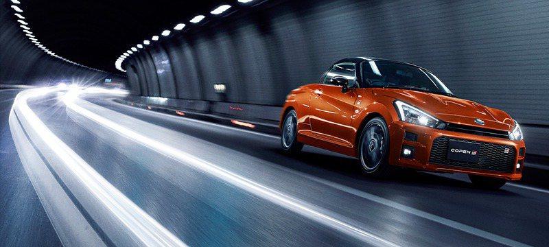 Daihatsu Copen GR Sport。 摘自Daihatsu