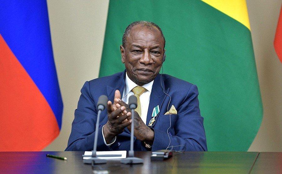 孔戴已擔任幾內亞總統長達10年,並計畫於明年修憲。(photo by Wikim...