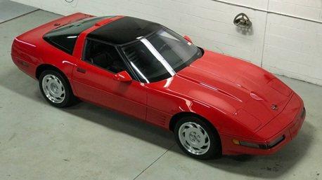 28年車齡的Corvette ZR1竟然跟新的一樣!