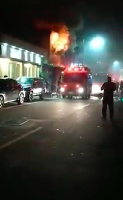 新竹市湳雅街一處民宅晚間10時許發生火災,,消防員救出一名62歲廖姓女傷患,疑似...