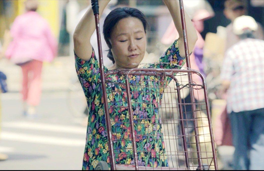 呂雪鳳以「那個我最親愛的陌生人」入圍最佳女主角。圖/海鵬提供