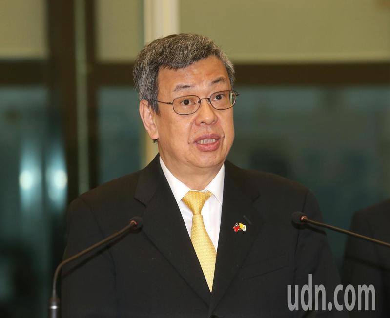 副總統陳建仁。聯合報記者陳嘉寧/攝影