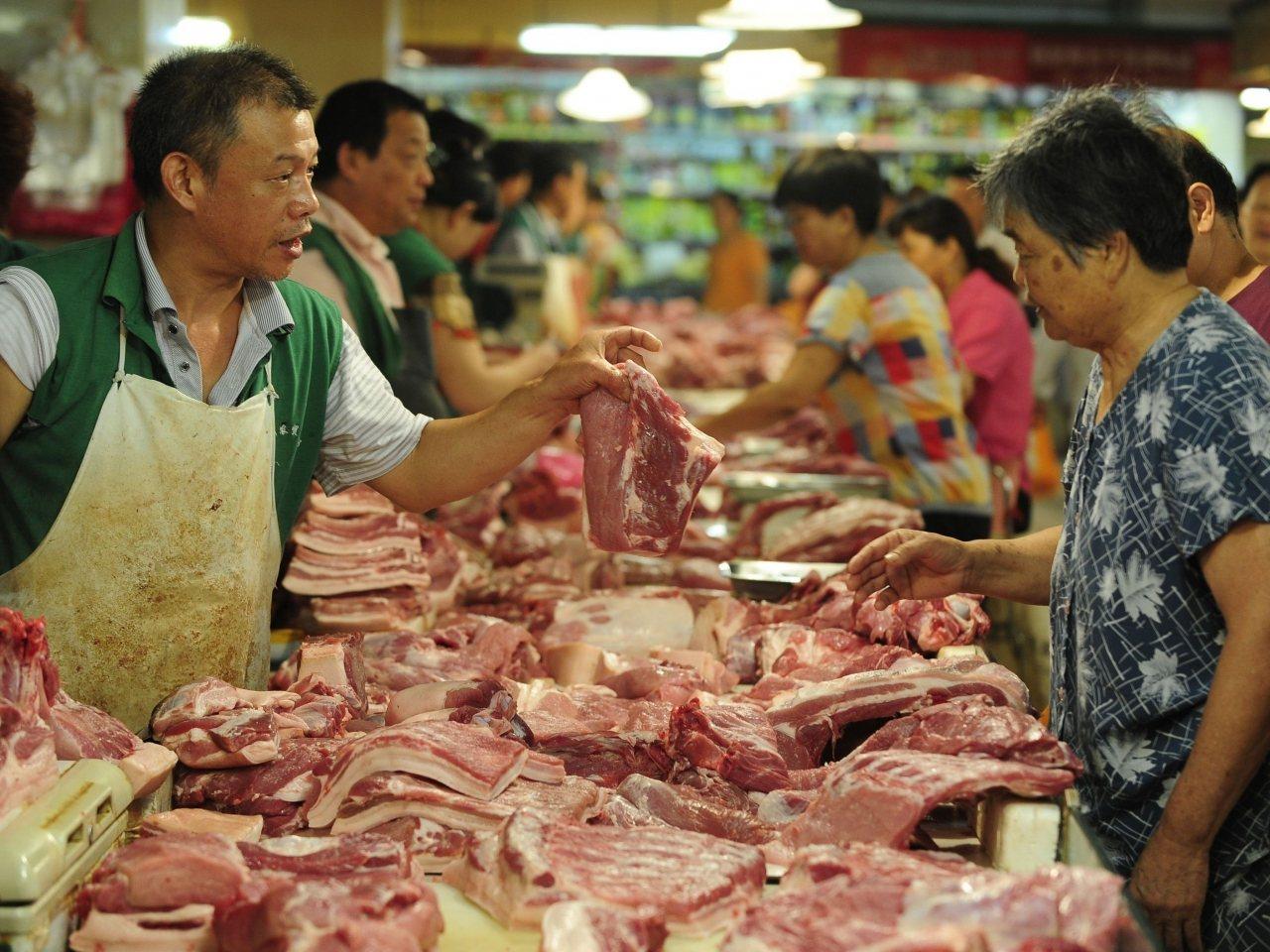 大陸9月通脹率升至3%,高於市場預期,並創近6年新高。(新華社資料圖片)