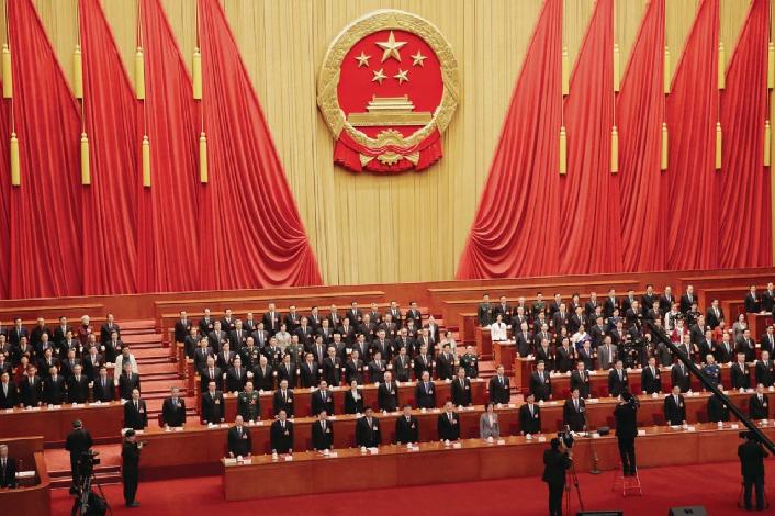 外界關注四中全會中中共全黨的意志如何應對當前中國面臨的系列問題。(路透社資料照片...