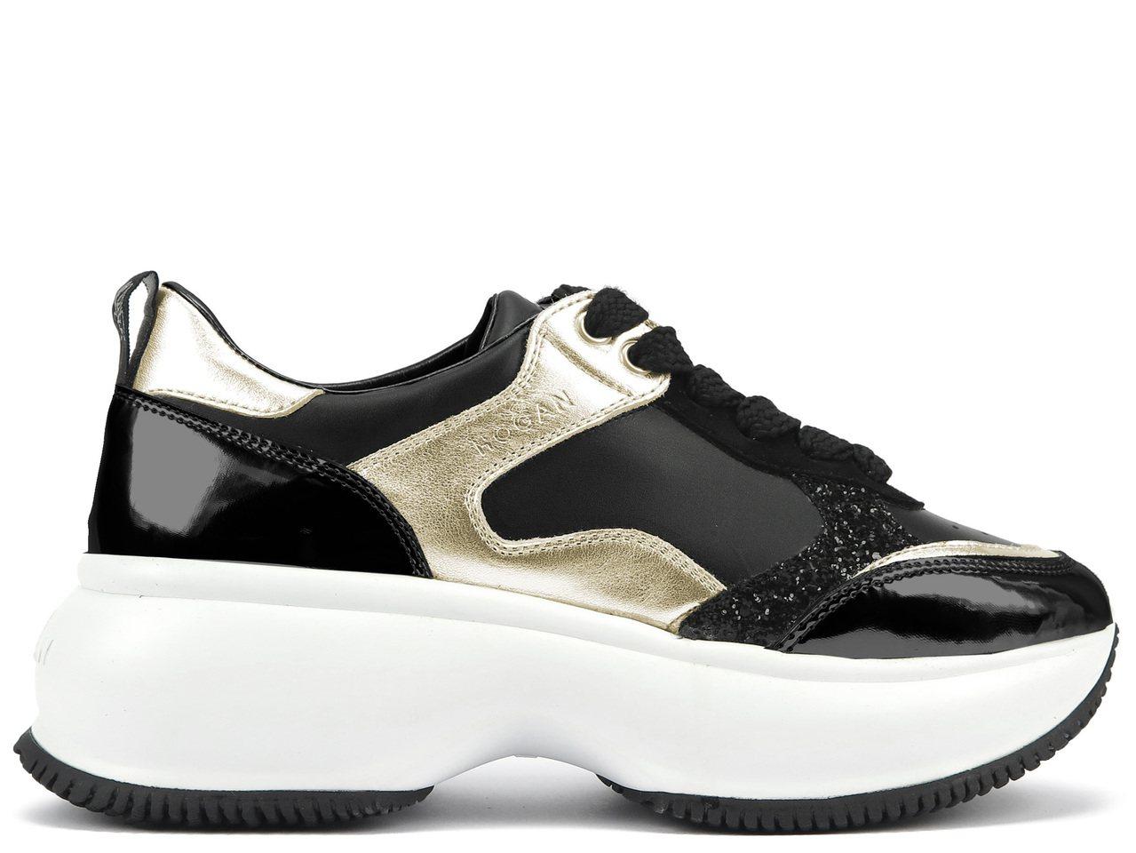 台灣限定款的Maxi Active皮革拼接女士休閒鞋,19,900元。圖/迪生提...