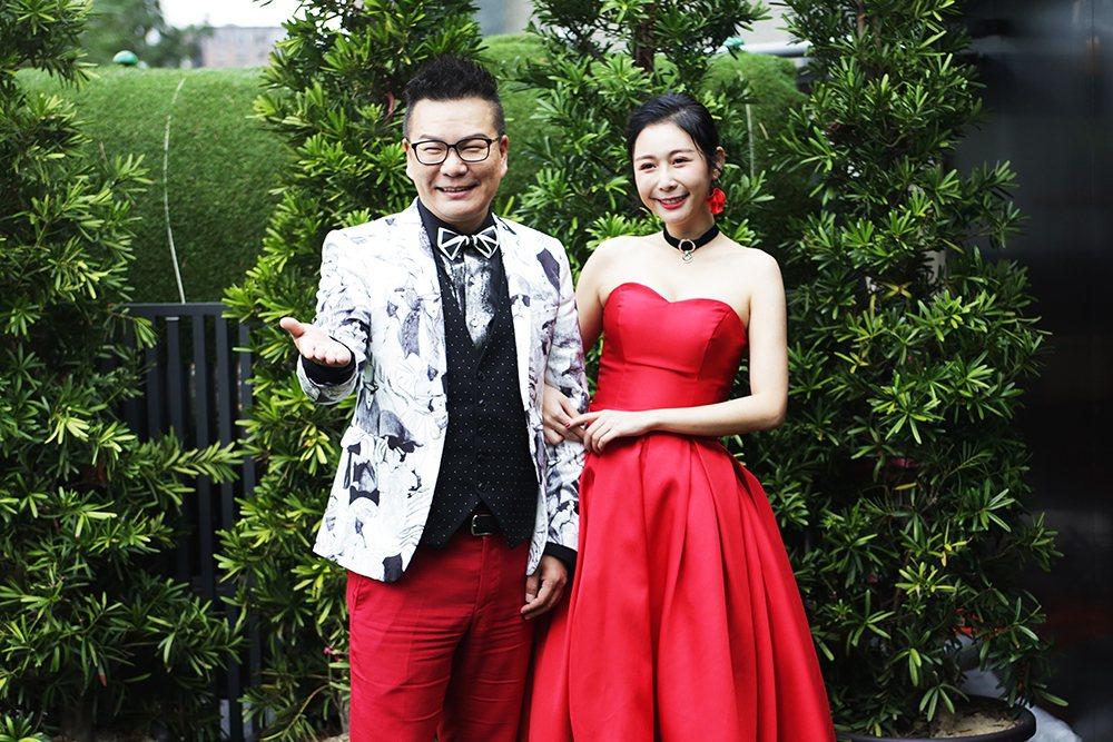 沈玉琳(左)和Albee(范乙霏)接下緯來新節目「歡迎光琳」。圖/緯來提供
