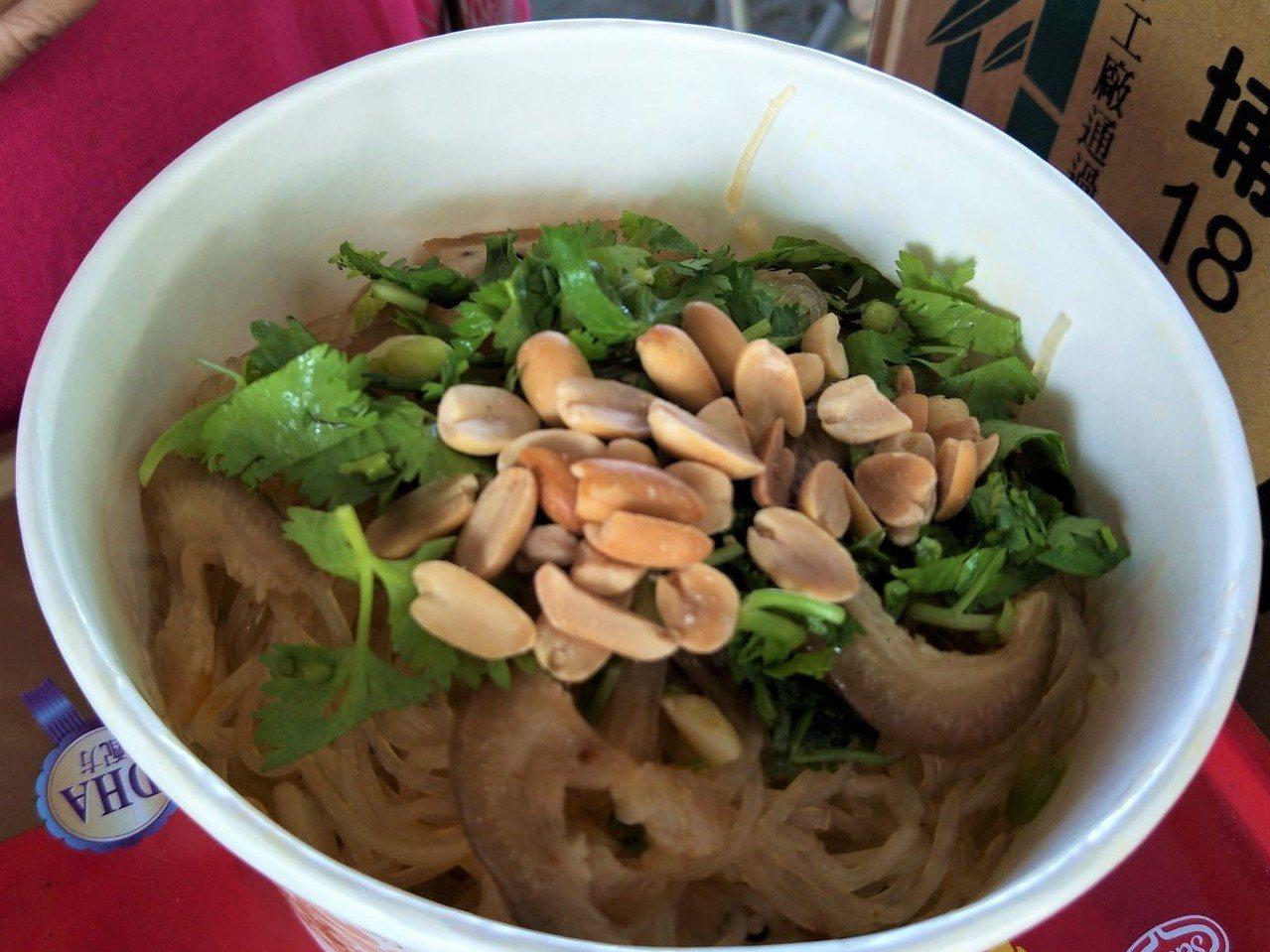 圖為滇緬聚落中的雲南美食。圖/屏東縣農村再生社區平台提供