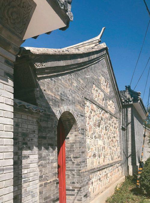 北京密雲古北口鎮河西村有清代聚落。 特派記者陳言喬/攝影