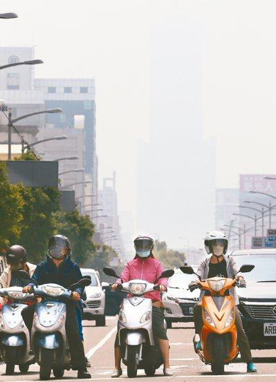 環保署昨天預告修法,規定未來空品預報若連兩天達「紅害」,將禁止有害空品的七大行為...