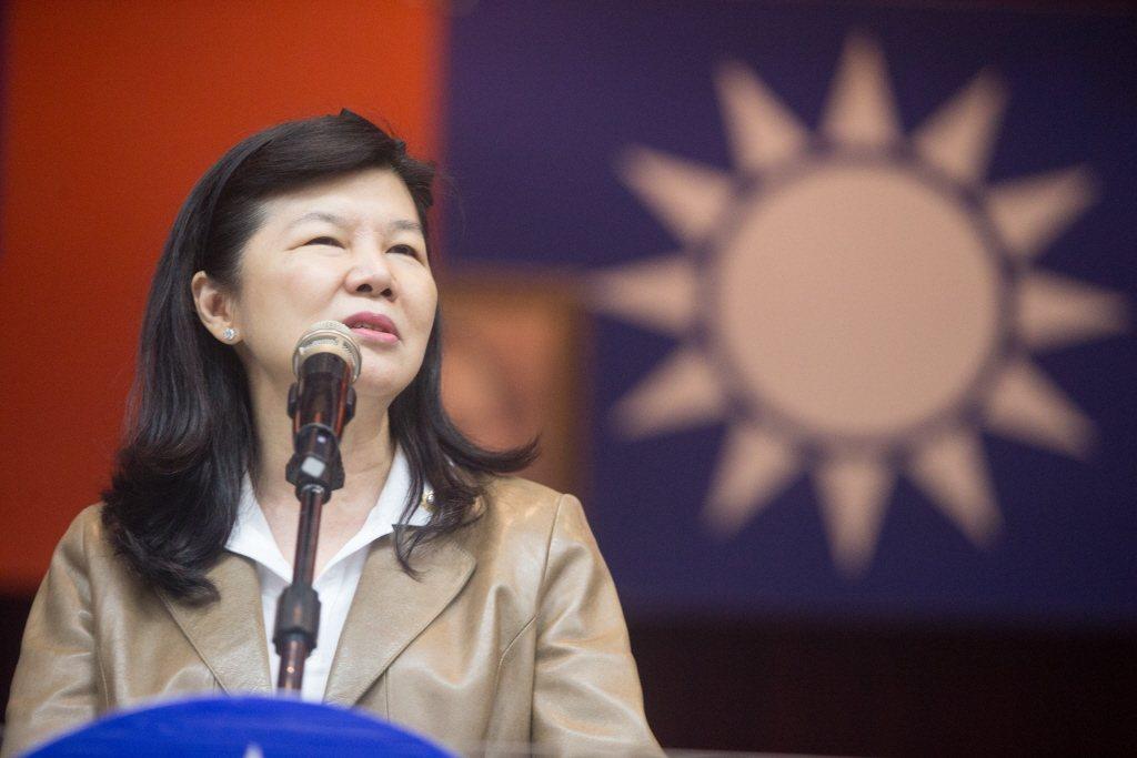 圖為婦聯會總會委員潘維剛。 聯合報系資料照片/記者黃仲裕攝影