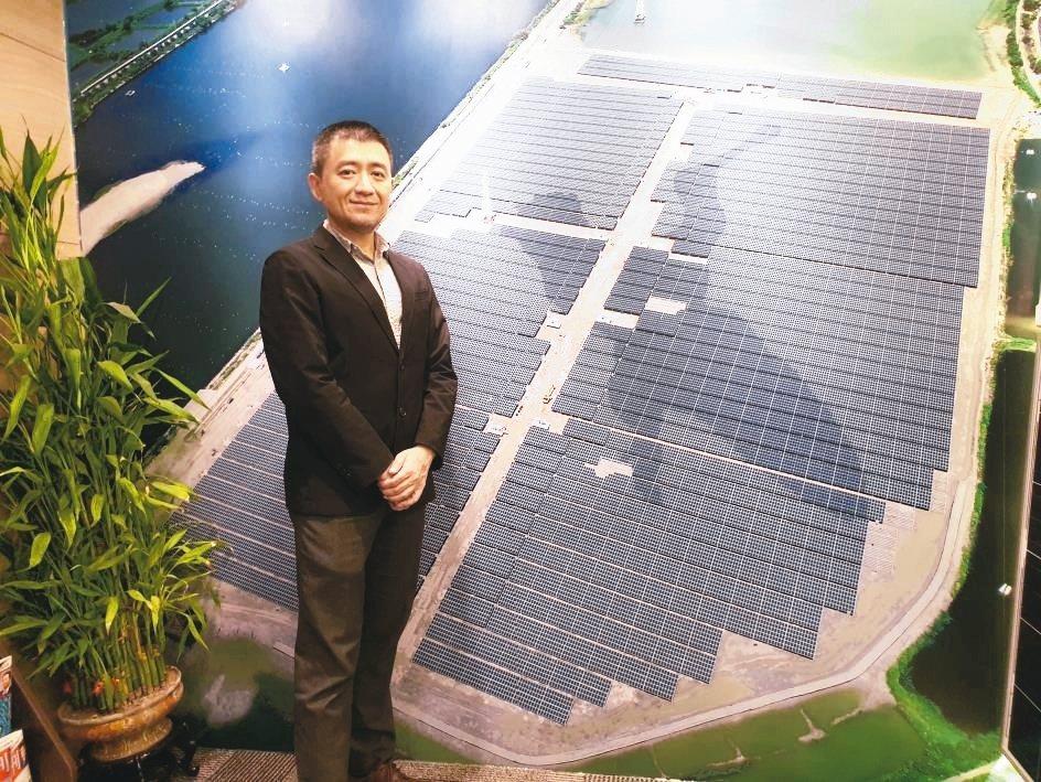 天泰能源總經理徐聰平。 翁永全/攝影