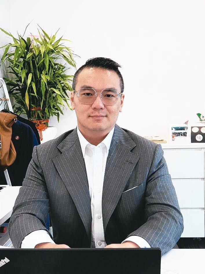 加國陽光能源科技台灣公司銷售總經理劉思漢。 翁永全/攝影