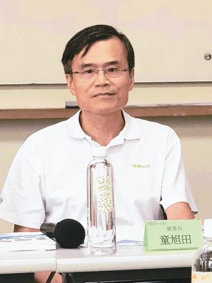 華擎董事長童旭田 (本報系資料庫)