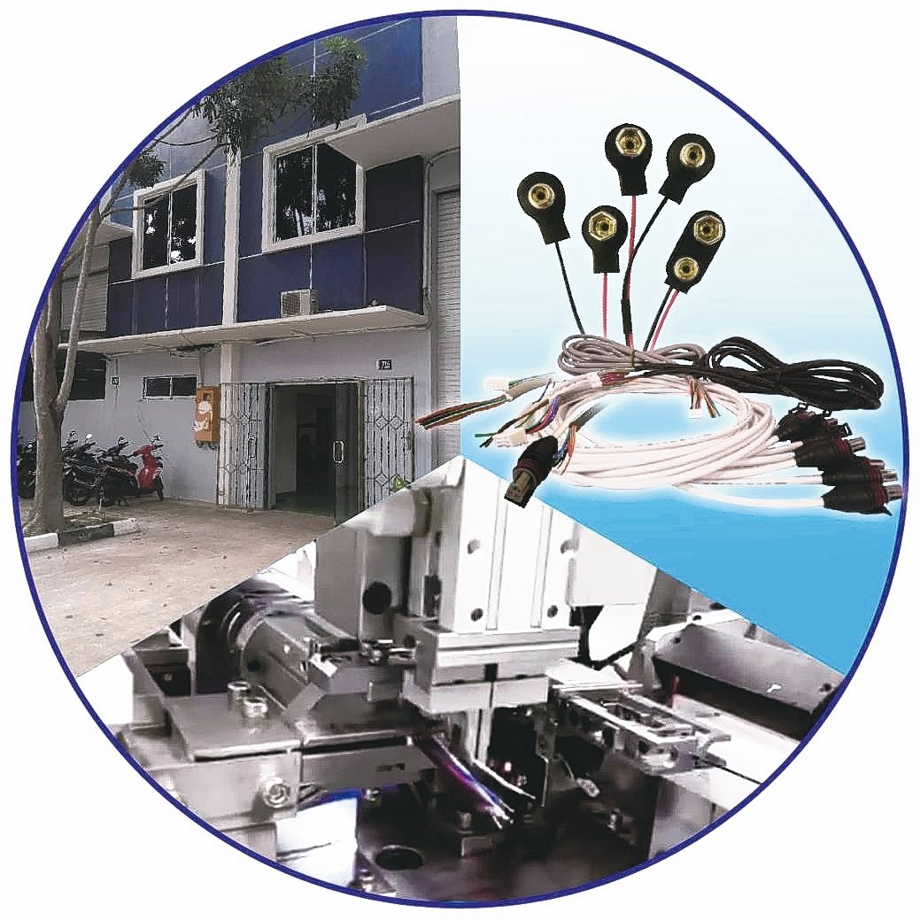 常利公司使用自動插件機來製造線束產品,可單、雙頭打端,連接器自動插線,並加強兩岸...