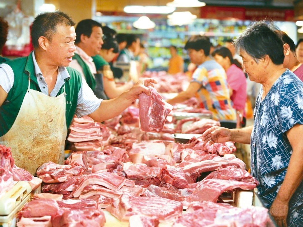 大陸9月CPI年增3%,高於市場預期,並創近六年新高。 新華社