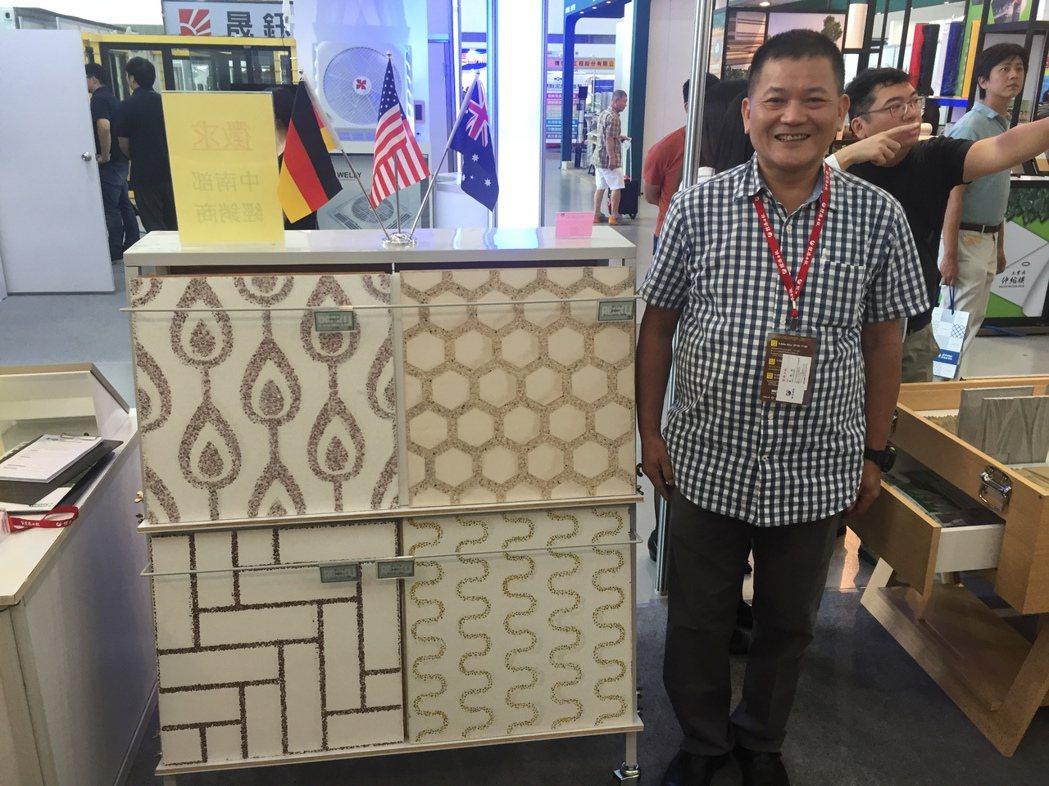 弘望公司董事長汪海陽表示,完成後的德國RECKLI外觀不褪色、不變形、不收縮,模...