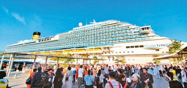 明年3月31日出發的歌詩達郵輪威尼斯號「日韓賞櫻八天行程」。 圖/雄獅旅遊提供