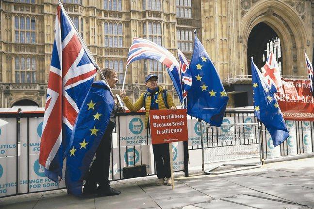英國與歐盟的脫歐談判傳出已接近達成協議。 美聯社