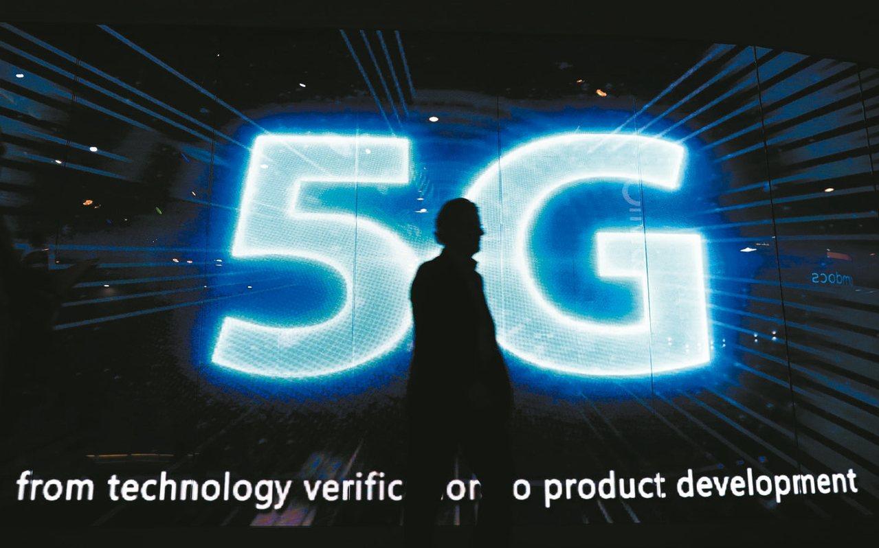 亞太電信今日在交大展演5G應用整合開發成果。 路透