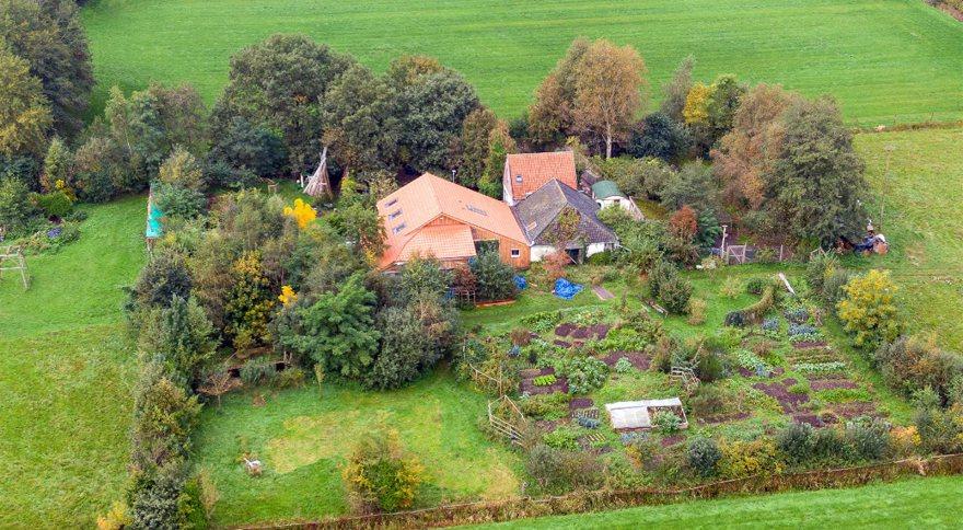 荷蘭媒體報導,在荷蘭東北部德倫特省的小村莊魯納沃德(Ruinerwold)發現一...