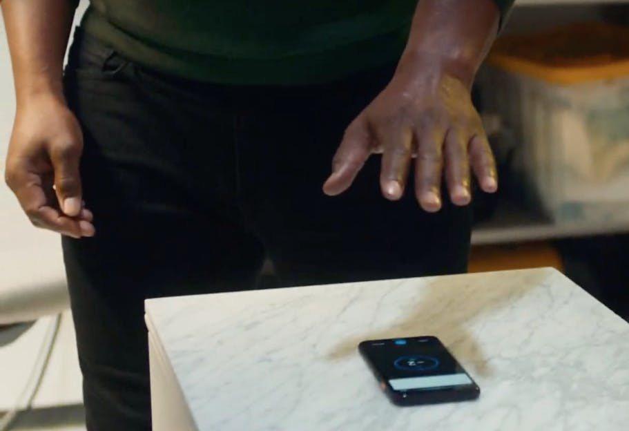 ▲Motion Sense 功能,可以直接不用手碰螢幕就能用快捷手勢操作
