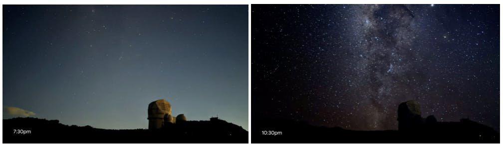 ▲左:Pixel 3,右:Pixel 4