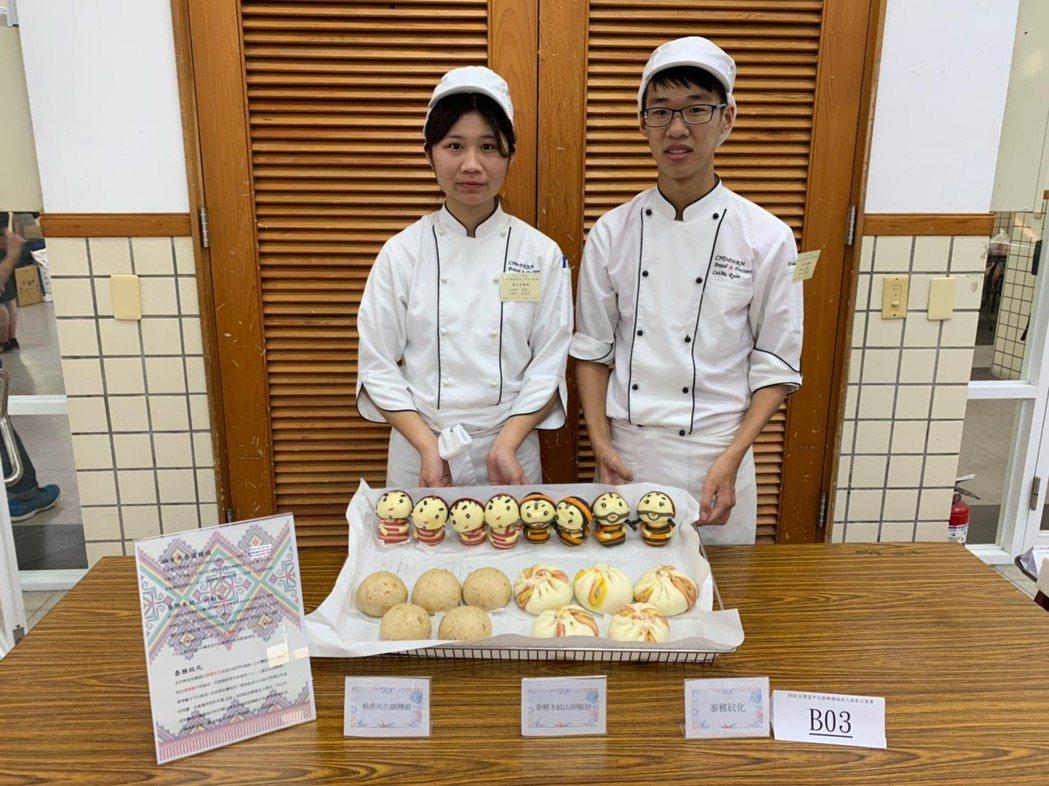 大專組冠軍以泰雅族文化及特有的食材製作。 嘉藥/提供