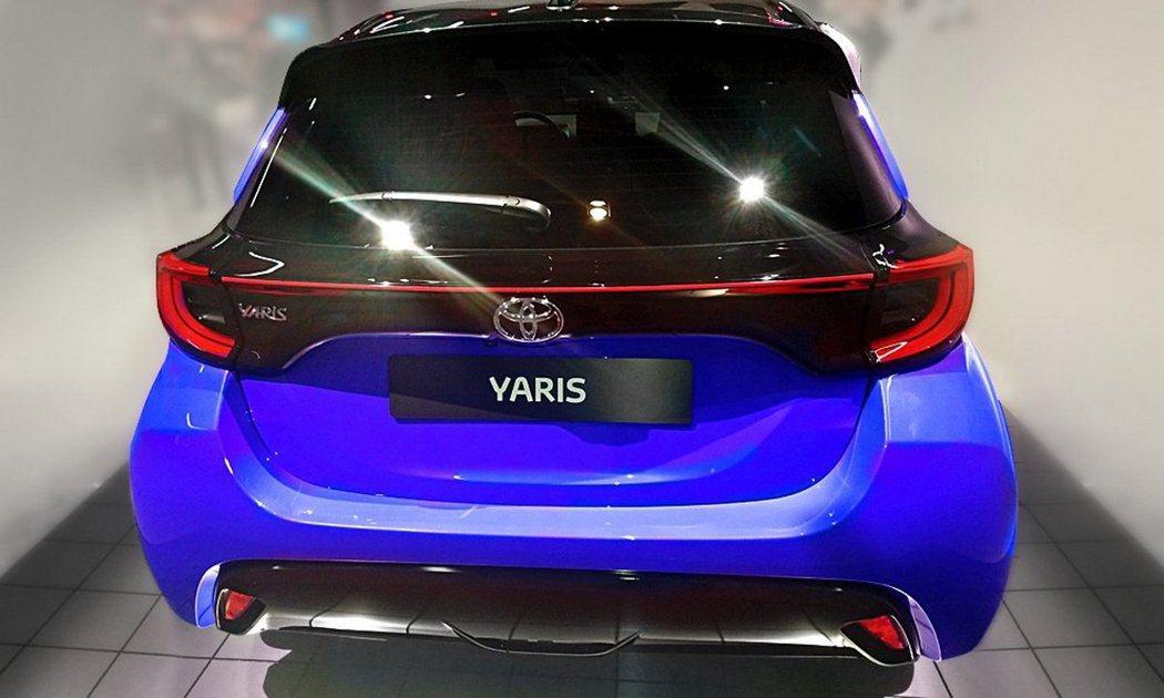 突出車身的尾燈設計與連貫式的造型,為新一代Yaris帶來創新風貌。 摘自Down...