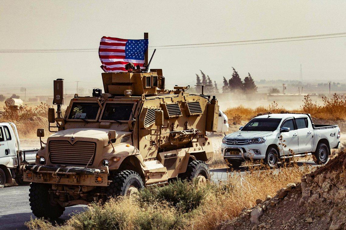 駐敘美軍10月初的資料照片。 圖/法新社