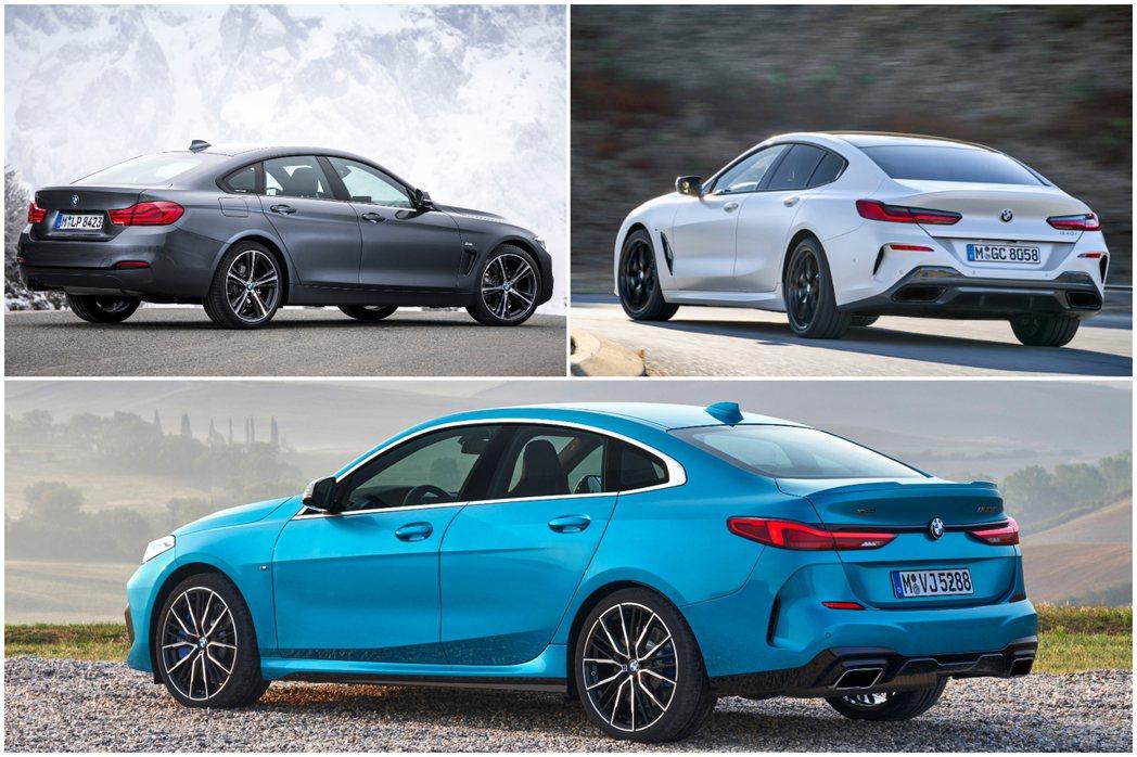 在2GC的加入後,BMW四門轎跑陣容提升到了三輛,分別為4GC (F36)、8G...