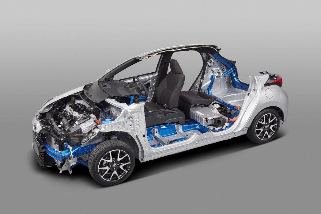 TNGA(GA-B)平台將駕駛座往車輛中心靠攏,營造低重心與更好的操控體驗。 圖...