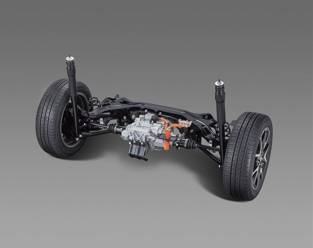 四輪驅動/E-Four車型採用後獨立懸吊。 圖/Toyota提供