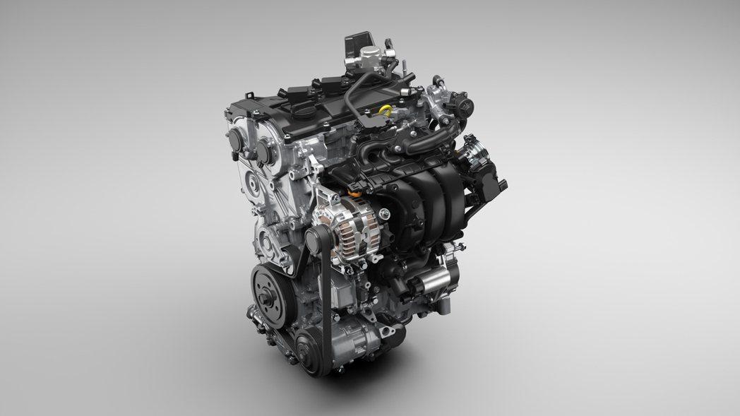 全新開發的1.5升Dynamic Force直列三缸自然進氣引擎(M15A)。 ...
