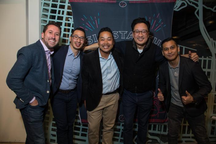 左起:Aaron McDaniel(Co-founder, 10X Innova...